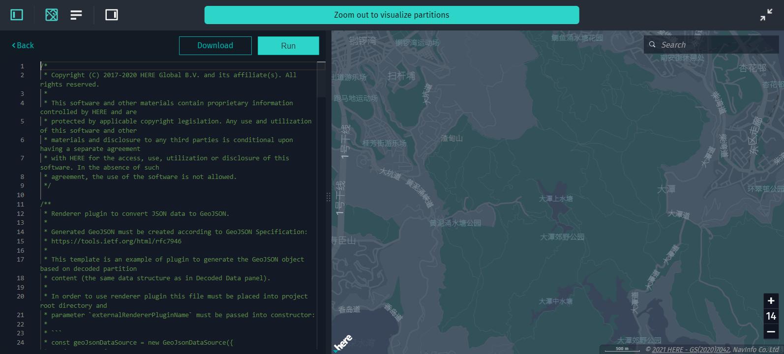 Data Inspector IDE · Visualization Library Developer's Guide