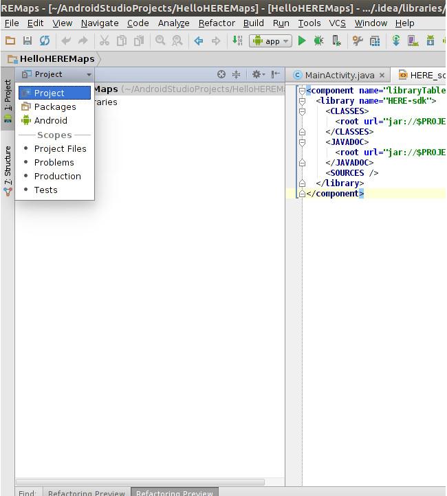 Guide - HERE Android SDK - HERE Developer
