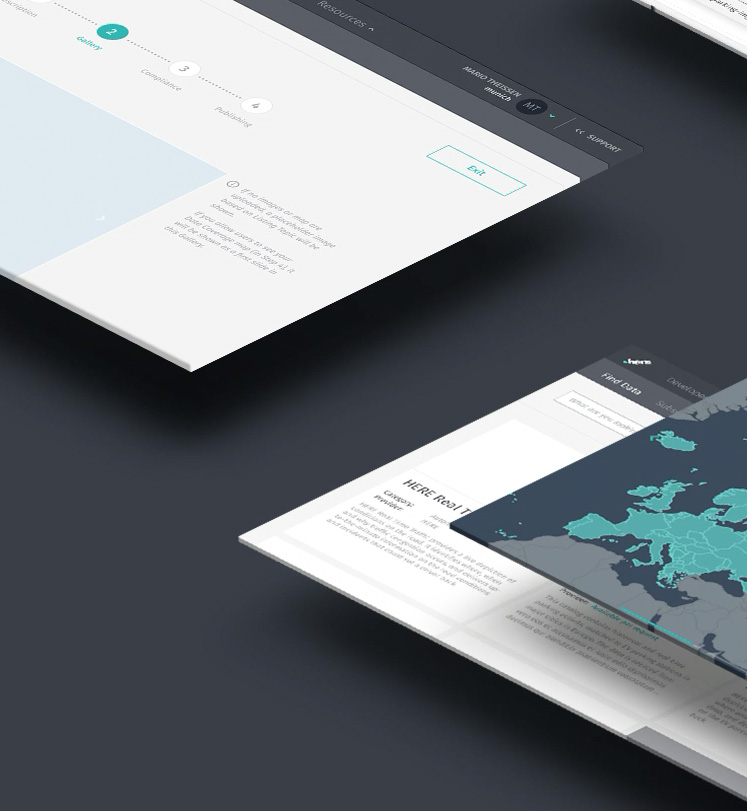 Build apps with HERE Maps API and SDK Platform Access - HERE