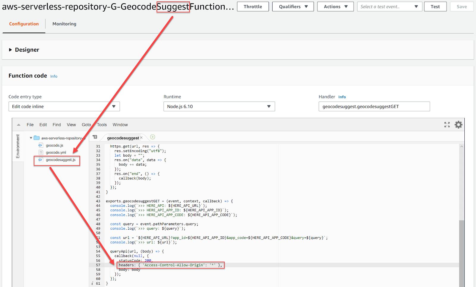Waterfall Express: Geocoder Autocomplete - HERE Developer